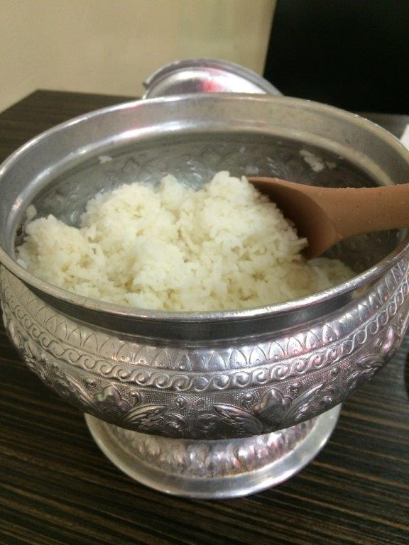 Rice as usual cannot finish.