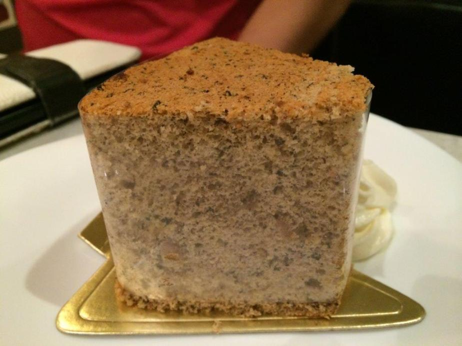 Earl Grey Cake is pretty good. Light with a fragrant earl grey tea aroma.