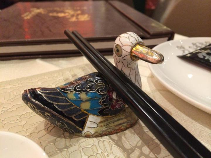 Cute chopsticks rest