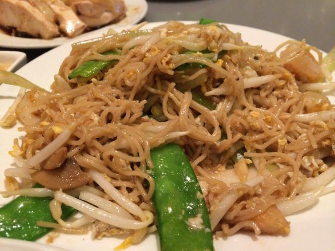 Fried noodles soso...