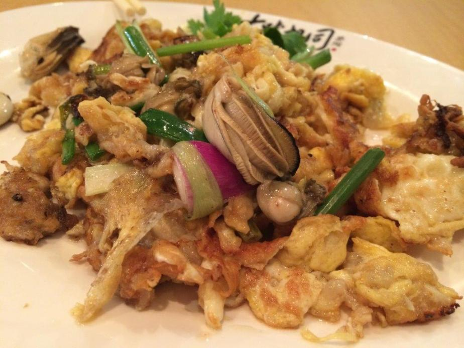 Fried Oyster Omelette - Not too bad, not crispy on the outer layer of the flour.