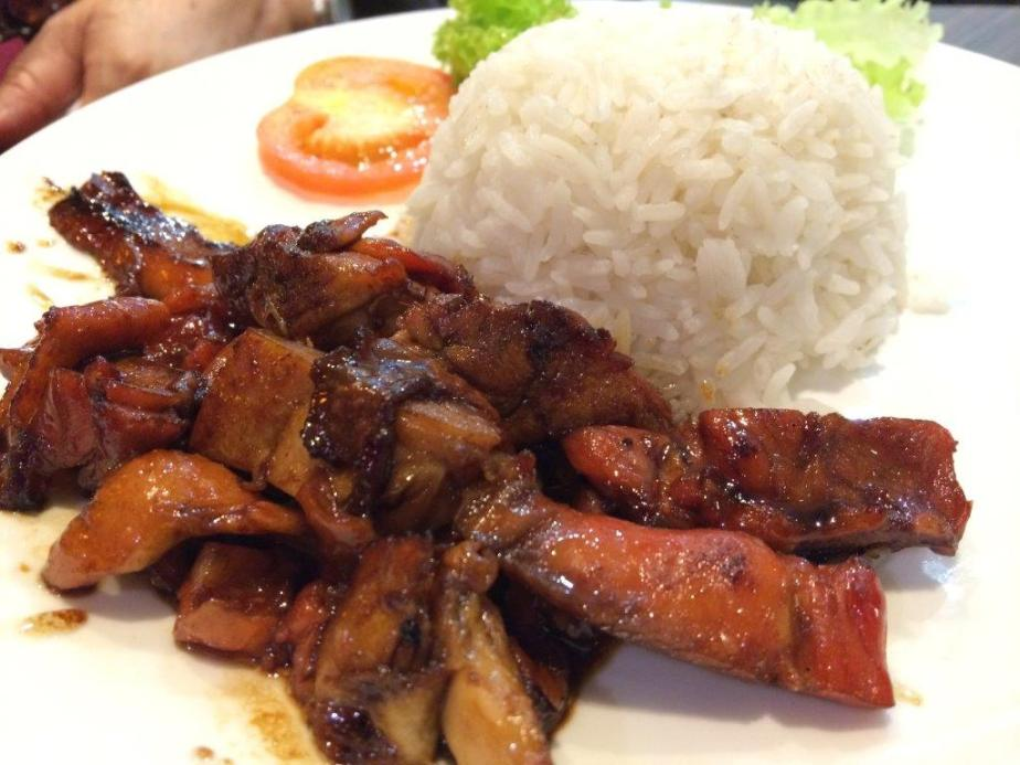 BBQ Chicken Rice. This  one is nice.