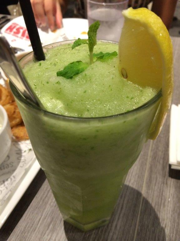 My second drink of Citrus Mint ($5.50) - A very refreshing concoction of fresh mint leaves and freshly squeezed lemon juice. Love this drink!