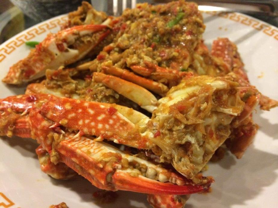 Nonya Flower Crabs With  Chilli & Salted Soy Beans. Ok this one is not on the menu but if you want to try this dish, maybe a pre-order of 1-2 days is required. Please check with them while making your reservations.