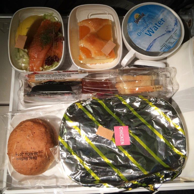 Emirates Flight Food – Singapore-Melbourne