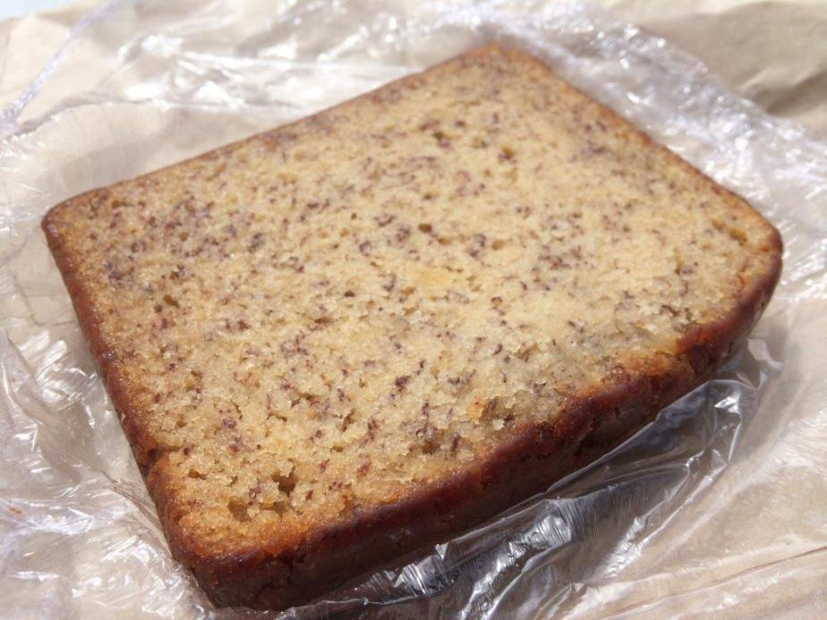 big piece of banana bread!