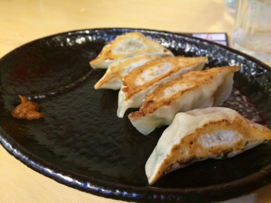 Gyozas are juicy!