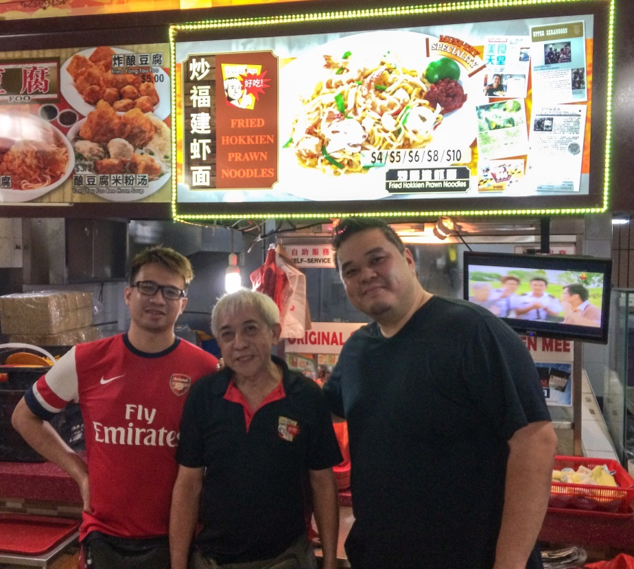 Original Simon Road Fried Hokkien Prawn Mee