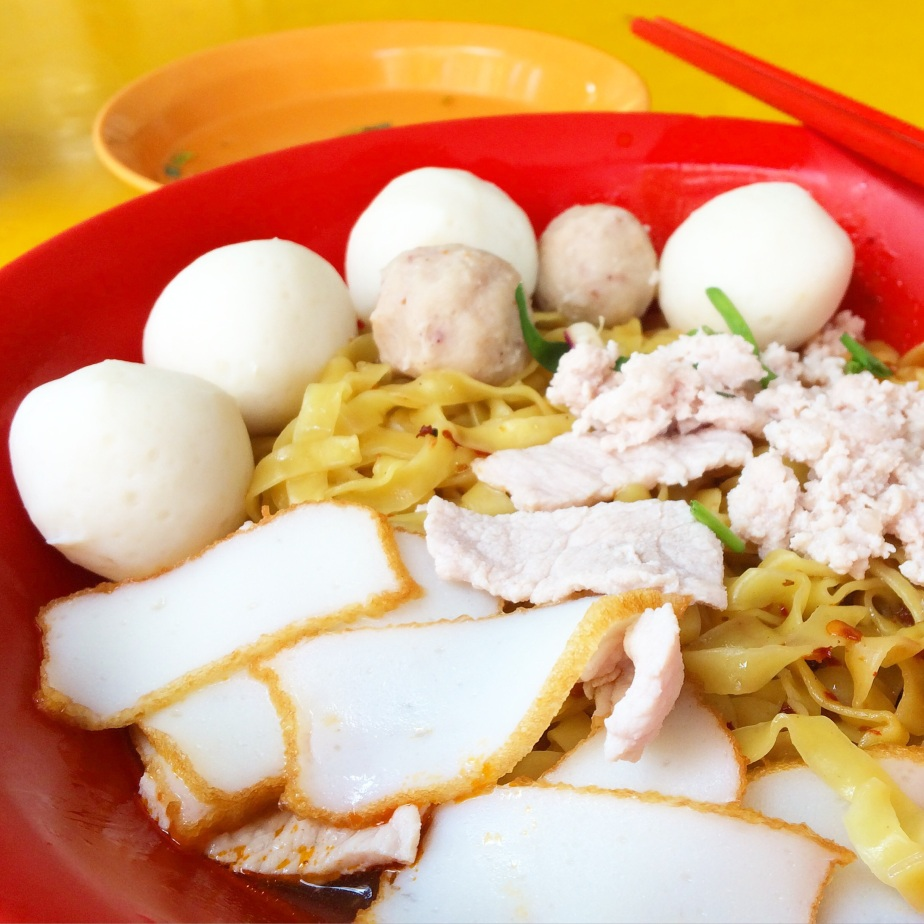文華鱼圆面 (Wen Hua Fishball Noodles) – Eunos, Singapore