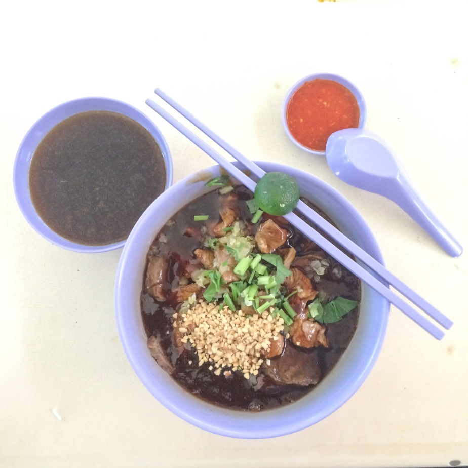 Traditional Hainan Beef Noodle (传统海南牛肉粉)
