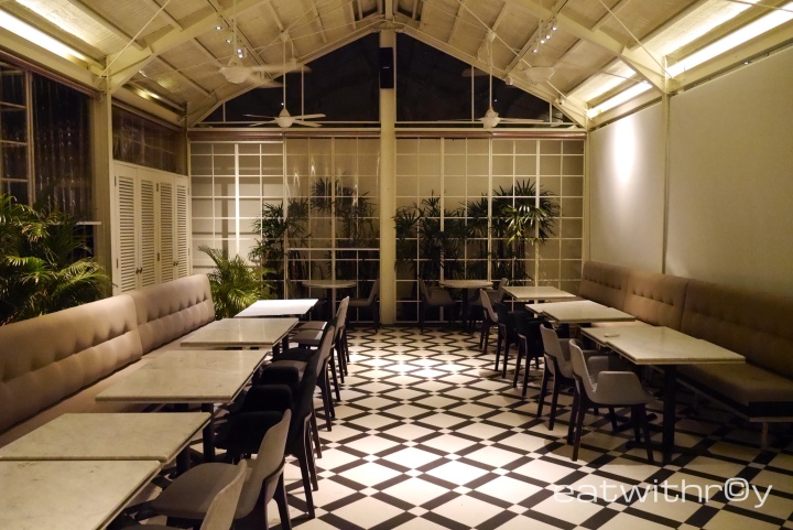 They have a space at the back which holds easily 40 pax for private functions.