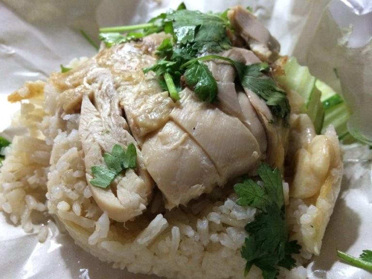 Packed this Khao Mun Gai for only 35 Baht. It is really tasty and fragrant!