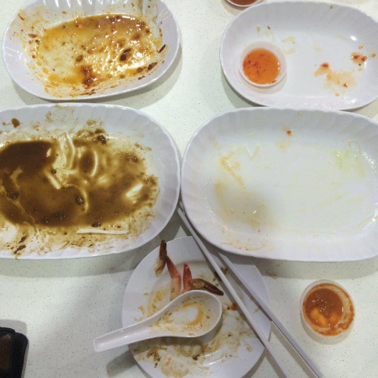 Empty plate campaign #cleanplates