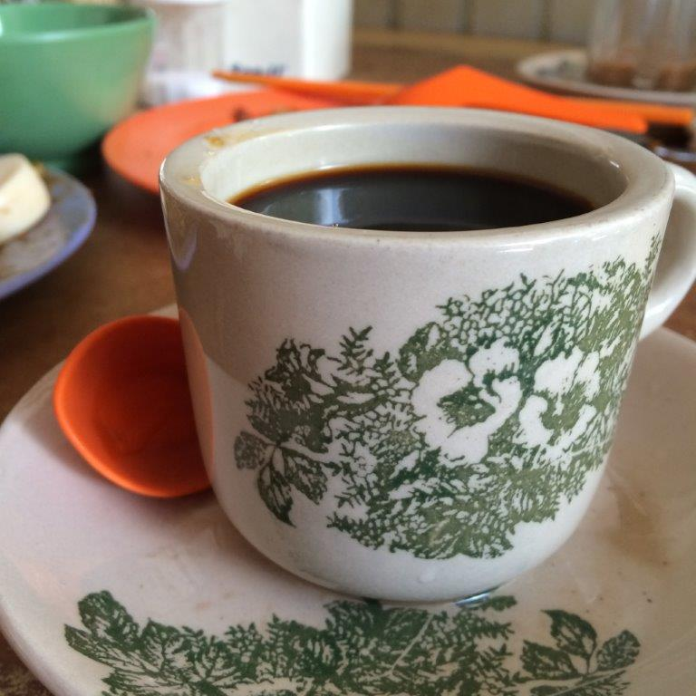 Kopi small cup is 5000 rp ($0.50)