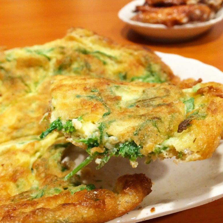 ChaOm (Dill) Omelette ($8.00) - Dill is good for detox and so I had a lot of this haha