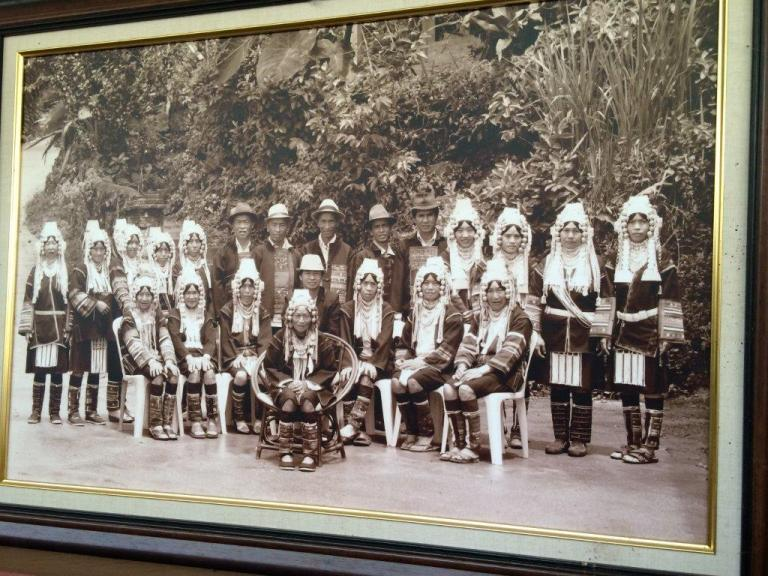 Akha Tribe. The original founding family of Doi Chang.