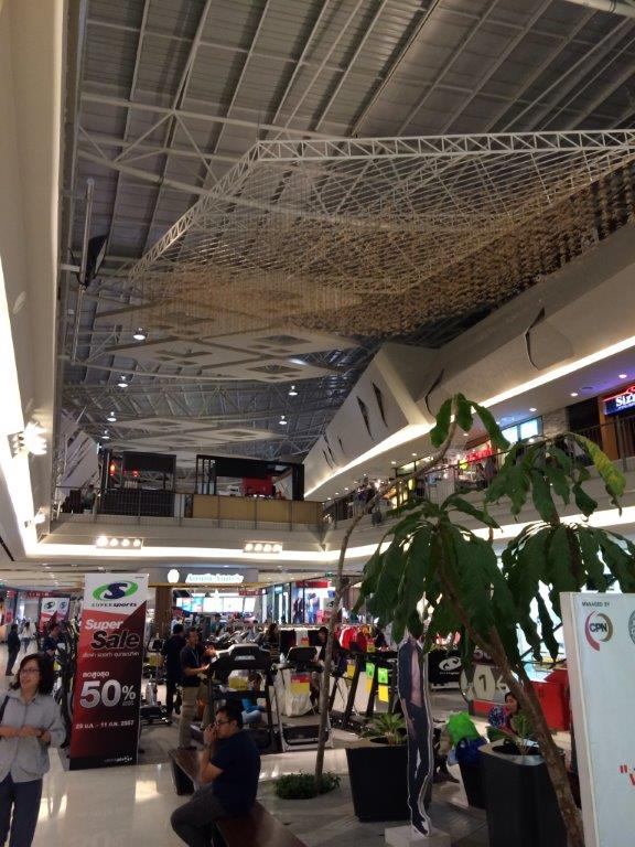 Biggest mall in Chiangrai.