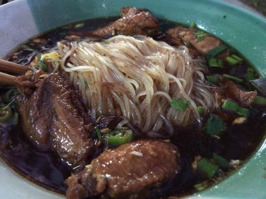 Ordered this glass noodles in dark sauce. Yummy!