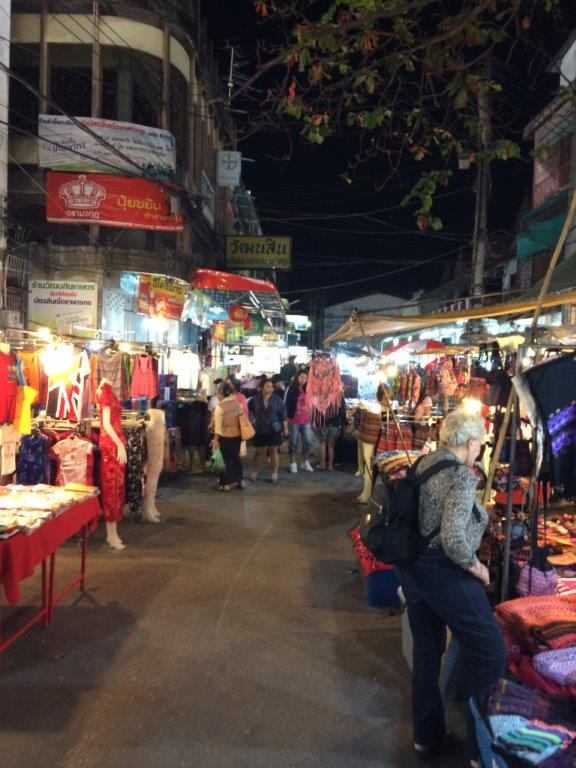 After dinner night market walk