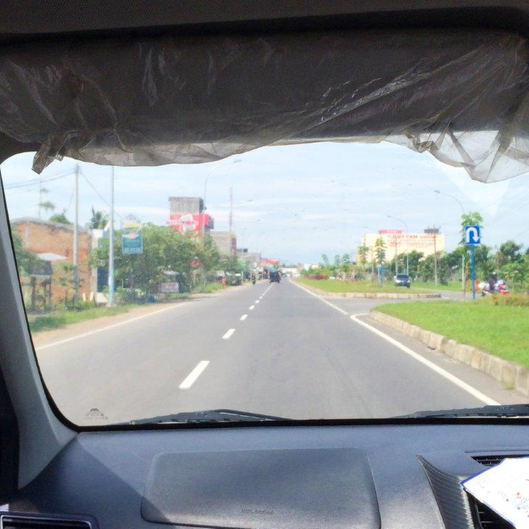 Roads of Medan outskirts