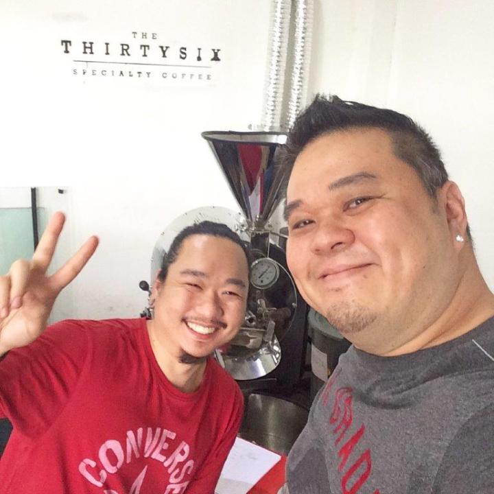 With in house roaster Billy!