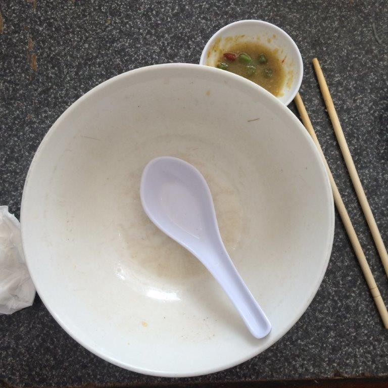 So good I emptied the bowl... #worldcleanplate