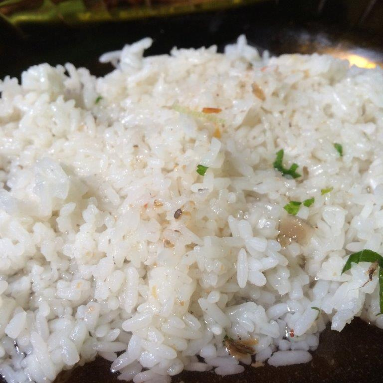Rice was uncooked. Quite bad.