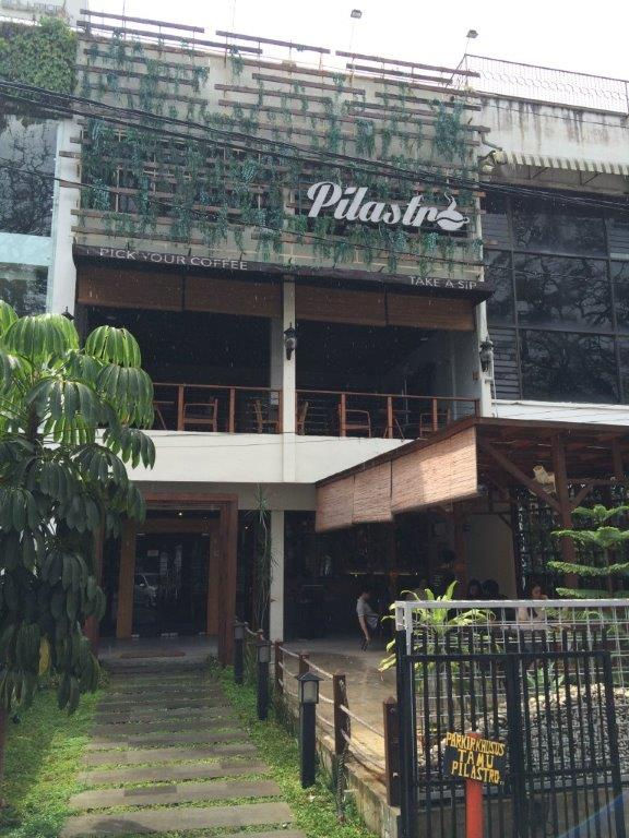 3rd stop. Pilastro Cafe (@pilastro_mdn). One of the pioneers in specialty coffee in Medan and it was a great honour to visit this place.