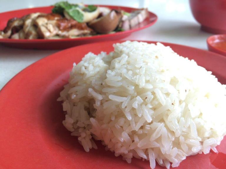 The rice they use is pretty awesome fragrant rice. I used to eat like 2-3 bowls.
