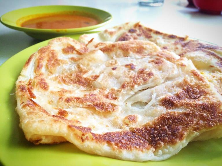 They don't have fancy pratas like all the fusion ones. Only good ol' traditional ones. Love a plain and egg