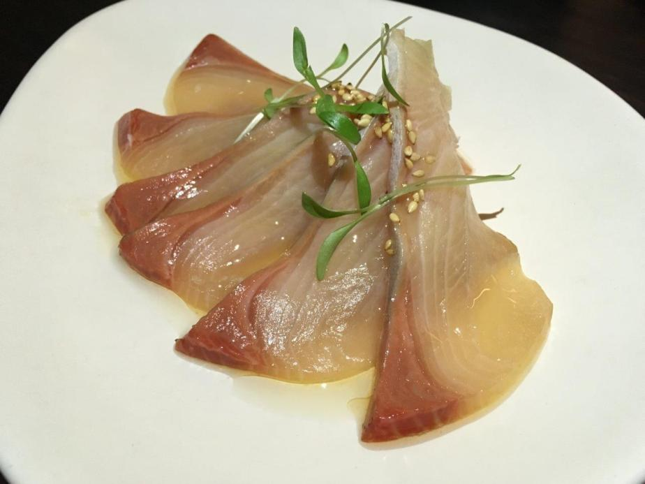 Kingfish Sashimi ($19) is yummy too!
