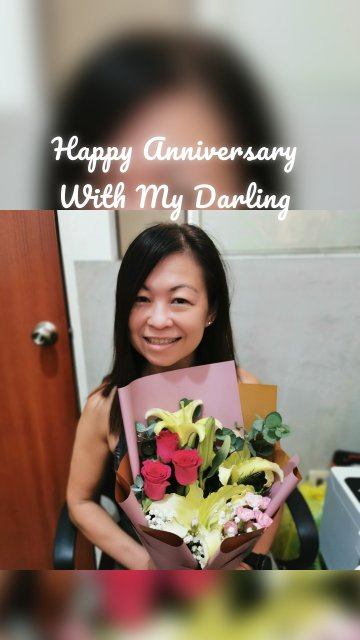 Happy Anniversary With My Darling